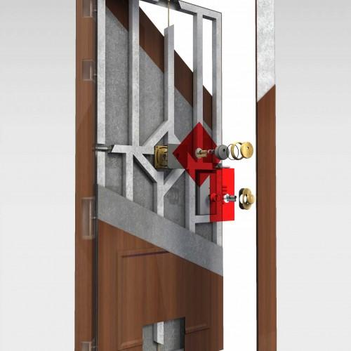 Puerta blindada bulcano